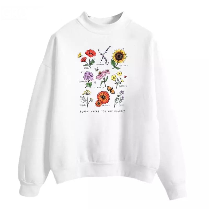 """Bloom"" Sweatshirt - cottonwoodbloomco"