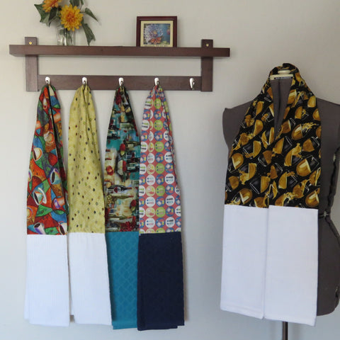 Kitchen Scarf and Wearable Towels - Kitchen & Entertaining Prints
