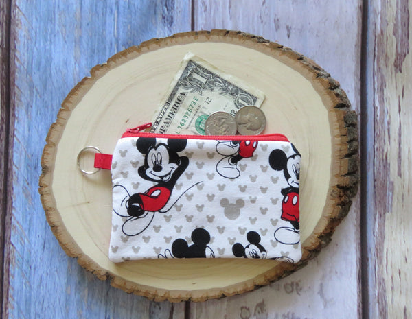 Disney Keyring Coin Purse - Mickey Mouse