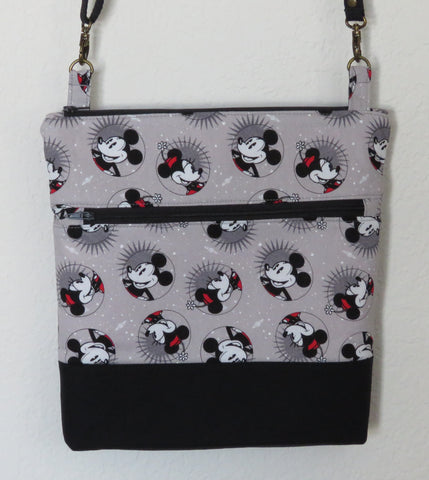 Mickey and Minnie All Smiles Bag with Adjustable Strap