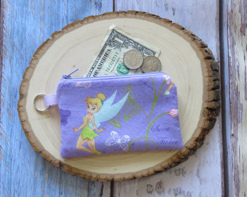 Disney Keyring Coin Purse - Tinkerbell