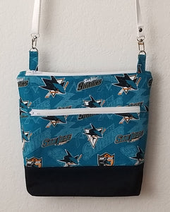 NHL Crossbody Bag - San Jose Sharks