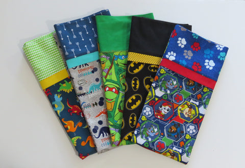 Children's Standard Pillowcases for Boys