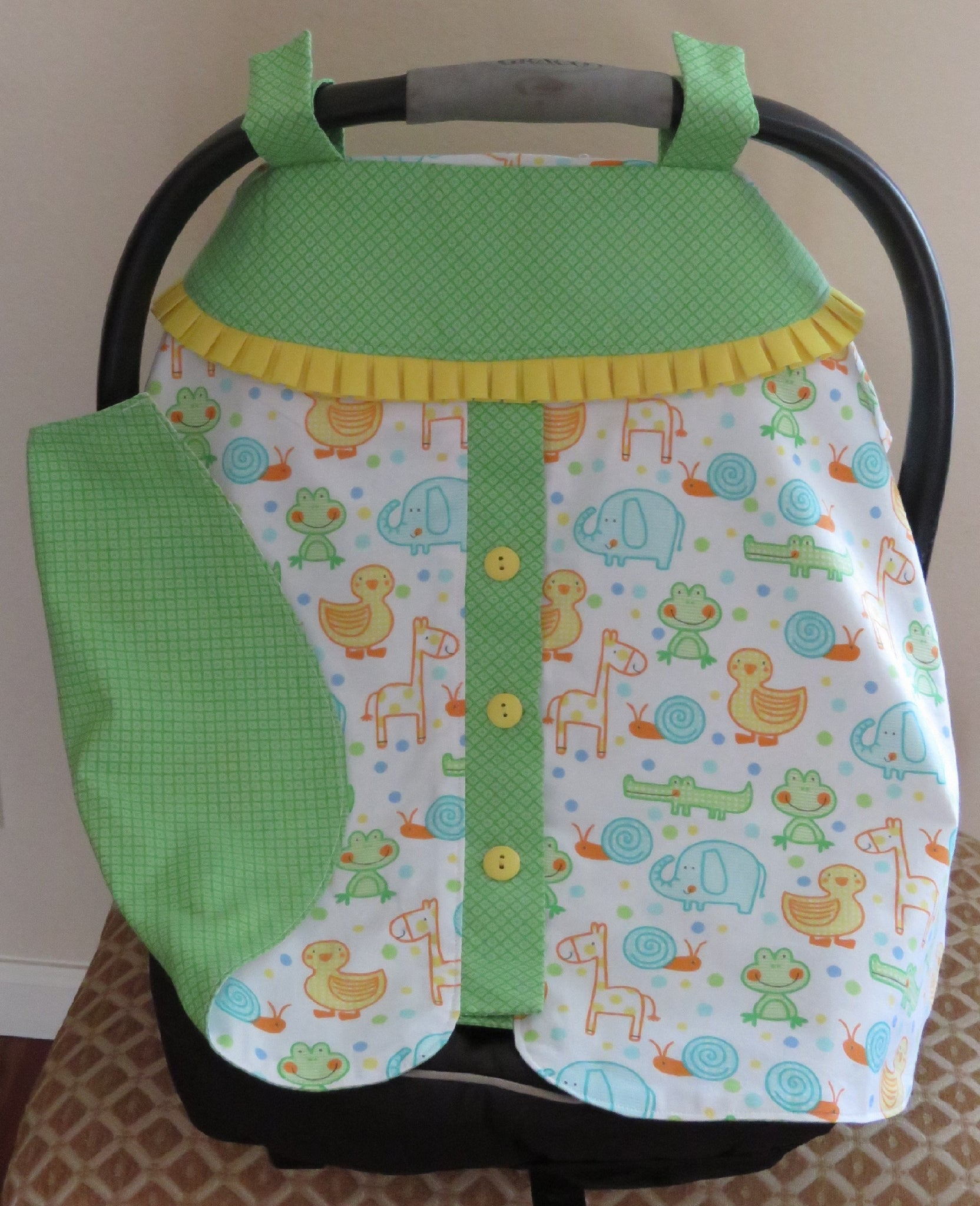 Car Seat & Carrier Cover for Baby & Infant