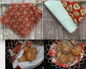 Flat Bread Bags - Many Prints