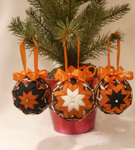 San Francisco Giants Fabric Ornaments