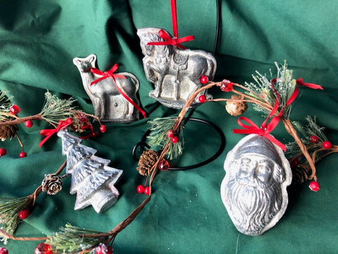 Candy Mold Tree Ornaments