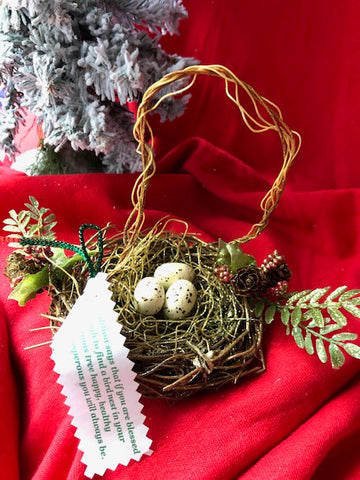 Bird's Nest Ornament