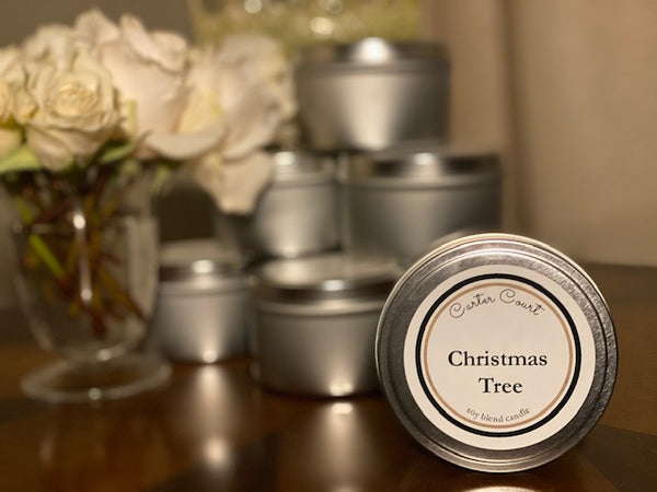 Christmas Tree Scented Soy Wax Candle