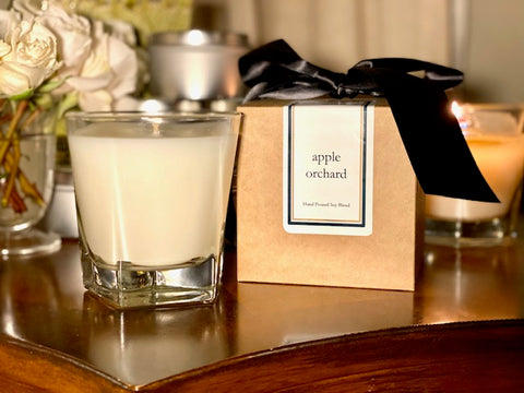 Apple Orchard Scented Soy Wax Candle