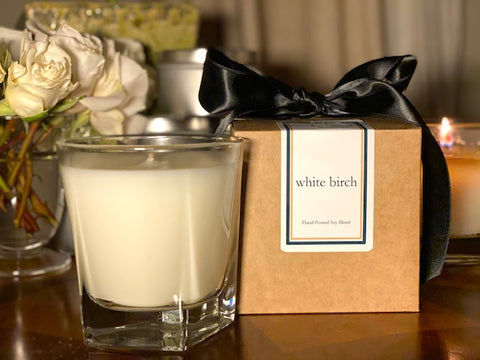 White Birch Scented Soy Wax Candle