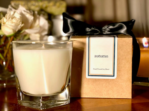 Autumn Scented Soy Wax Candle