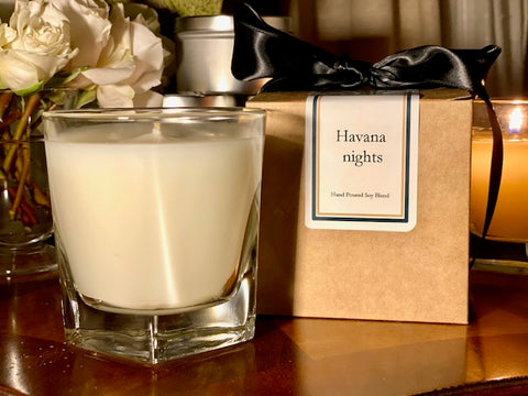 Havana Nights Scented Soy Wax Candle