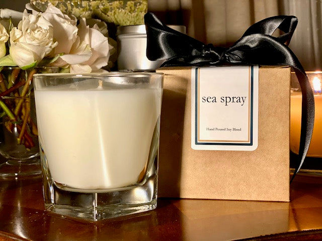 Sea Spray Scented Soy Wax Candle