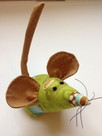 Coffee Cup Hand Sewn Mice