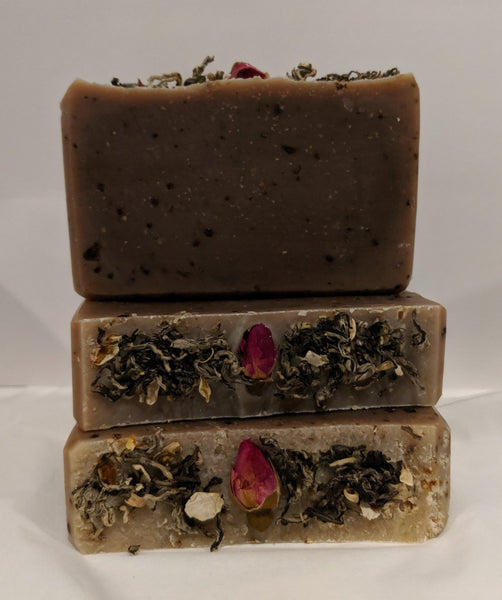 Jasmine Green Tea & Rose Artisan Soap
