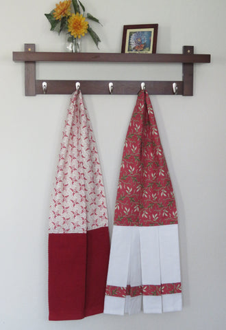 Kitchen Scarf and Wearable Towels - Winter Prints