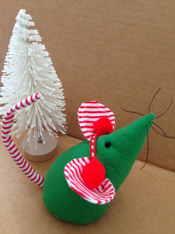 Peppermint Hand Sewn Mouse