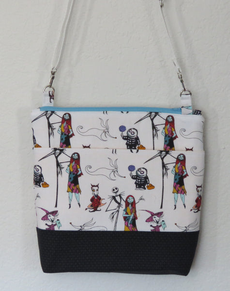 Nightmare Before Christmas Crossbody Purses with Adjustable Strap - Various Mini Characters