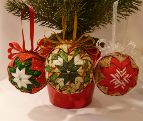 Holiday Fabric Ornaments - Series 1