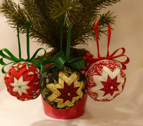 Holiday Fabric Ornaments - Series 2
