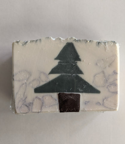 Frosted Pine Artisan Soap