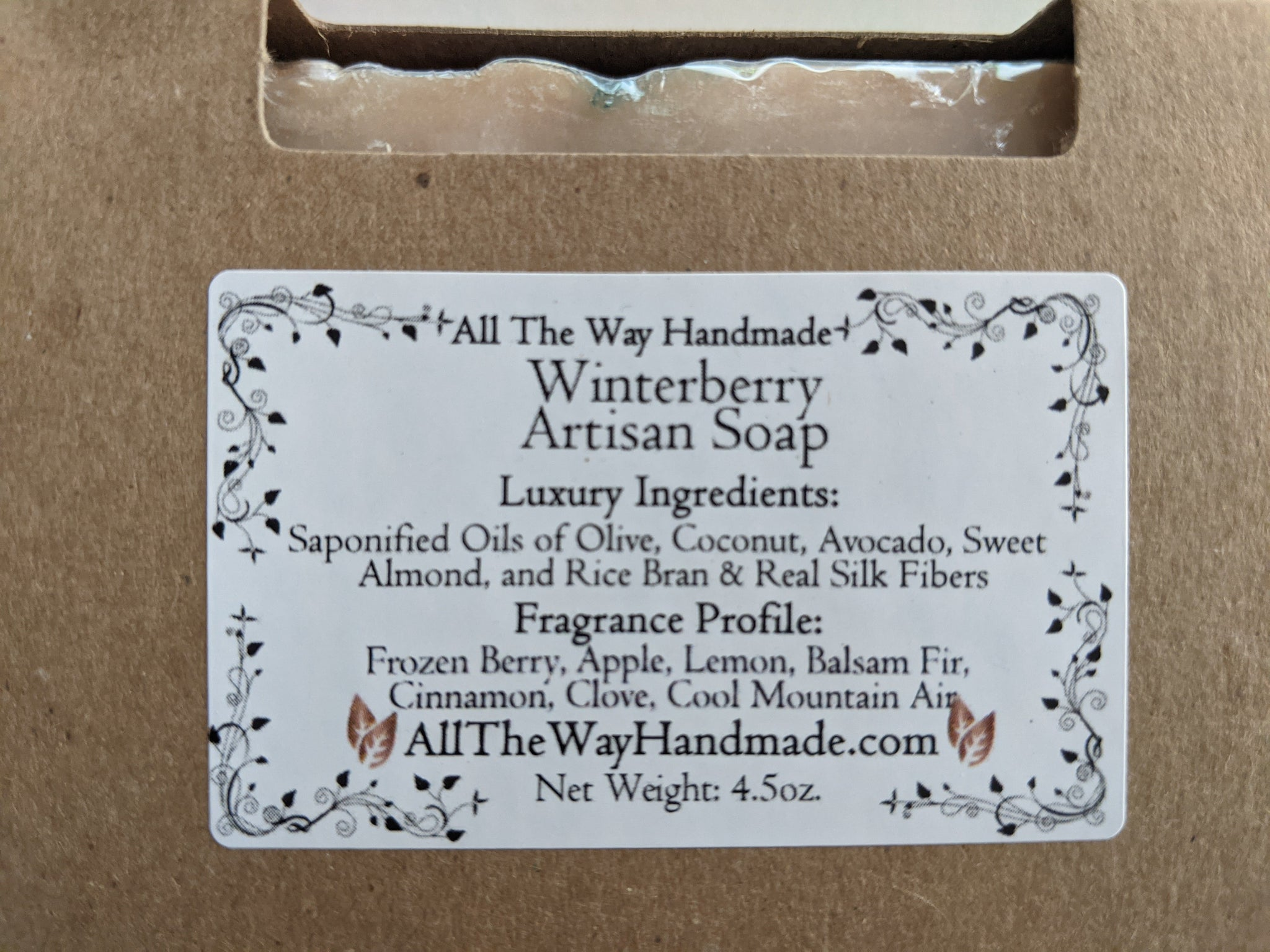 Winterberry Artisan Soap