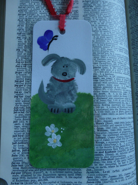 Hand Painted Bookmark Dogs - Seires 4