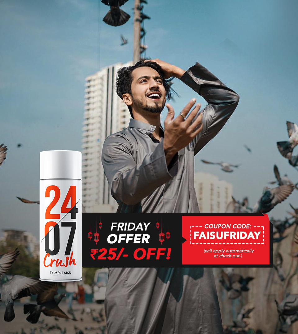 2407 - CRUSH by Mr.Faisu | Friday Offer