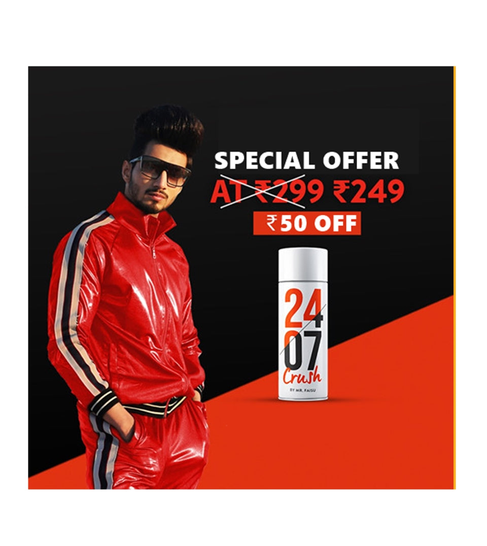 2407 - CRUSH by Mr.Faisu | Rs. 50 Off