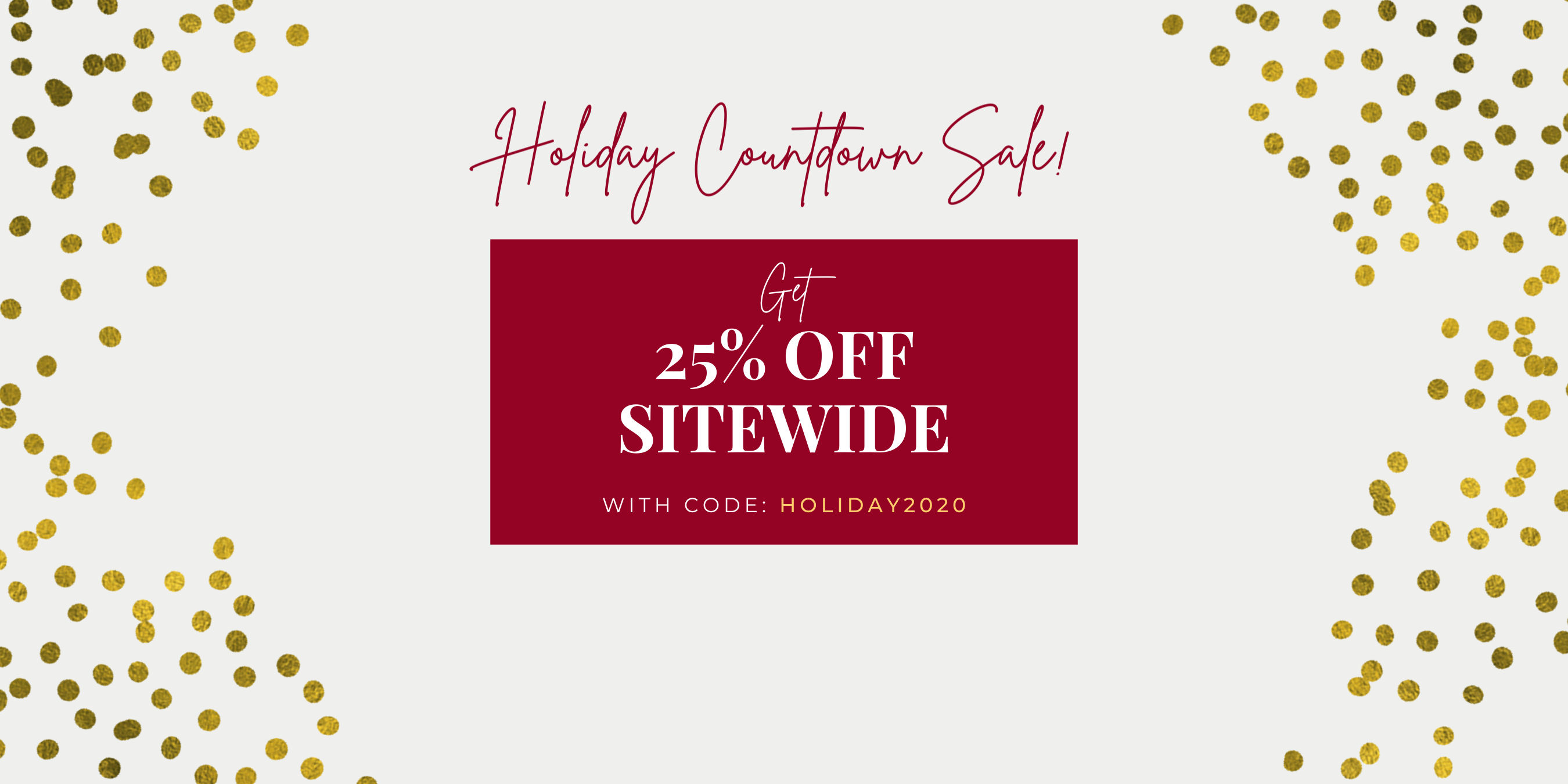 Holiday Sale 2020