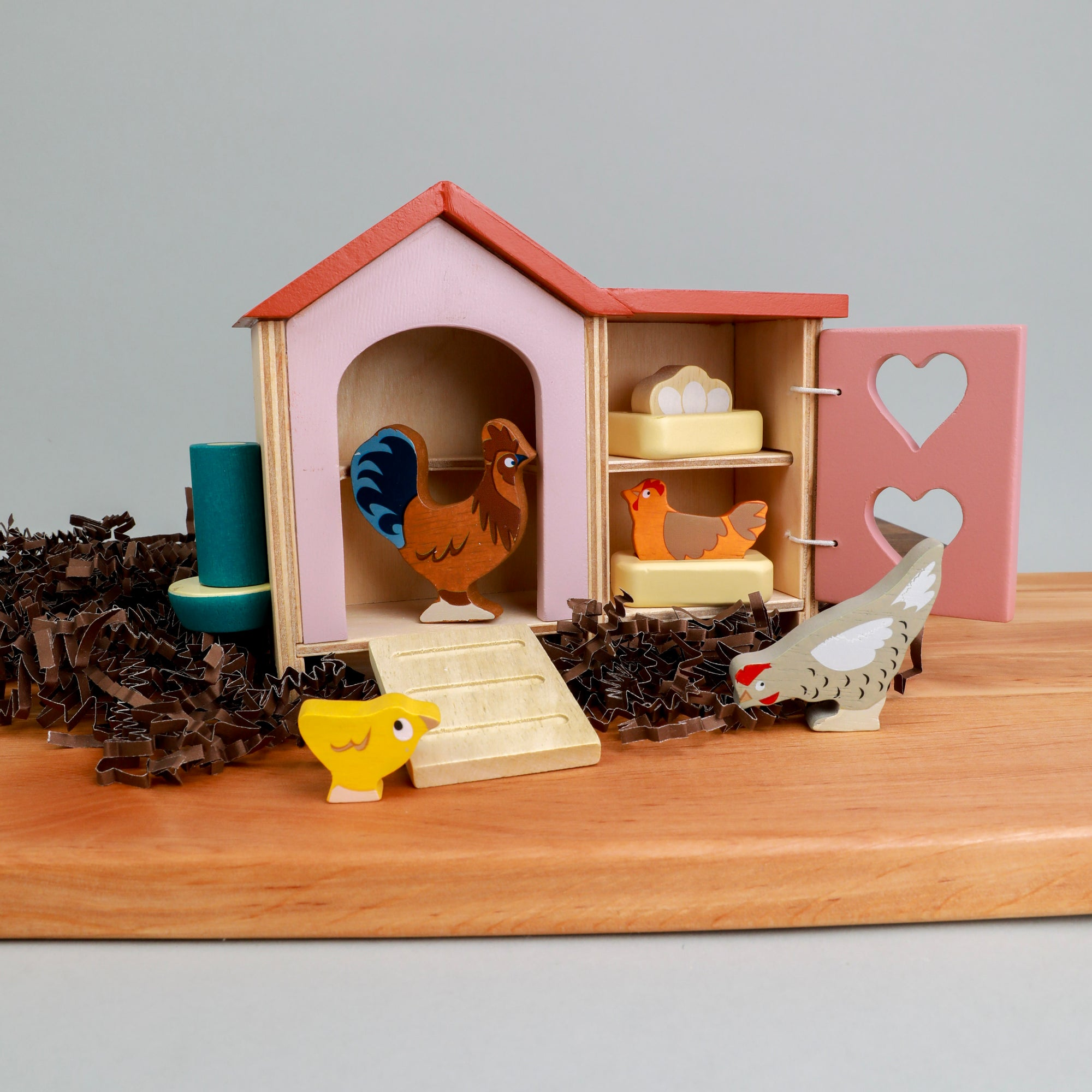 Chicken Coop Play Set
