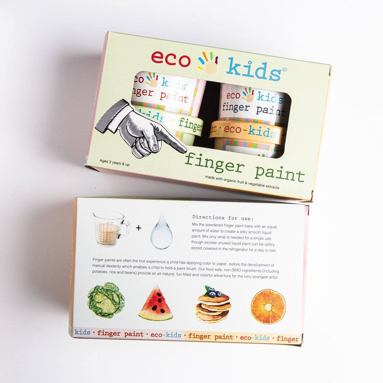Eco Finger Paint (set of 4 colors)
