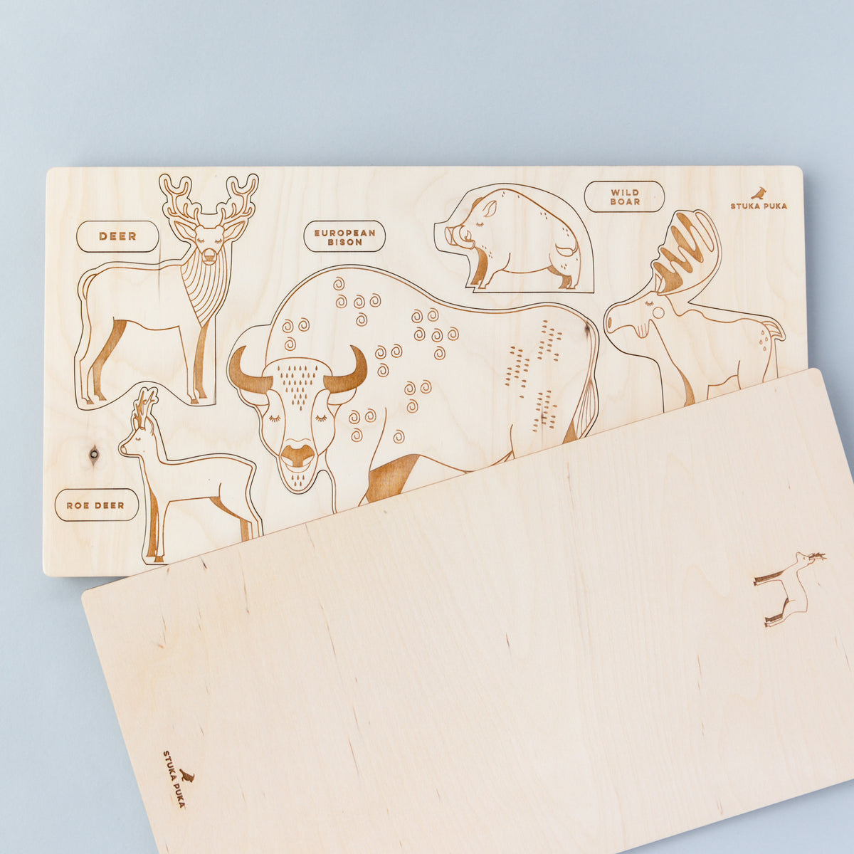 Forest Animals Wooden Puzzle