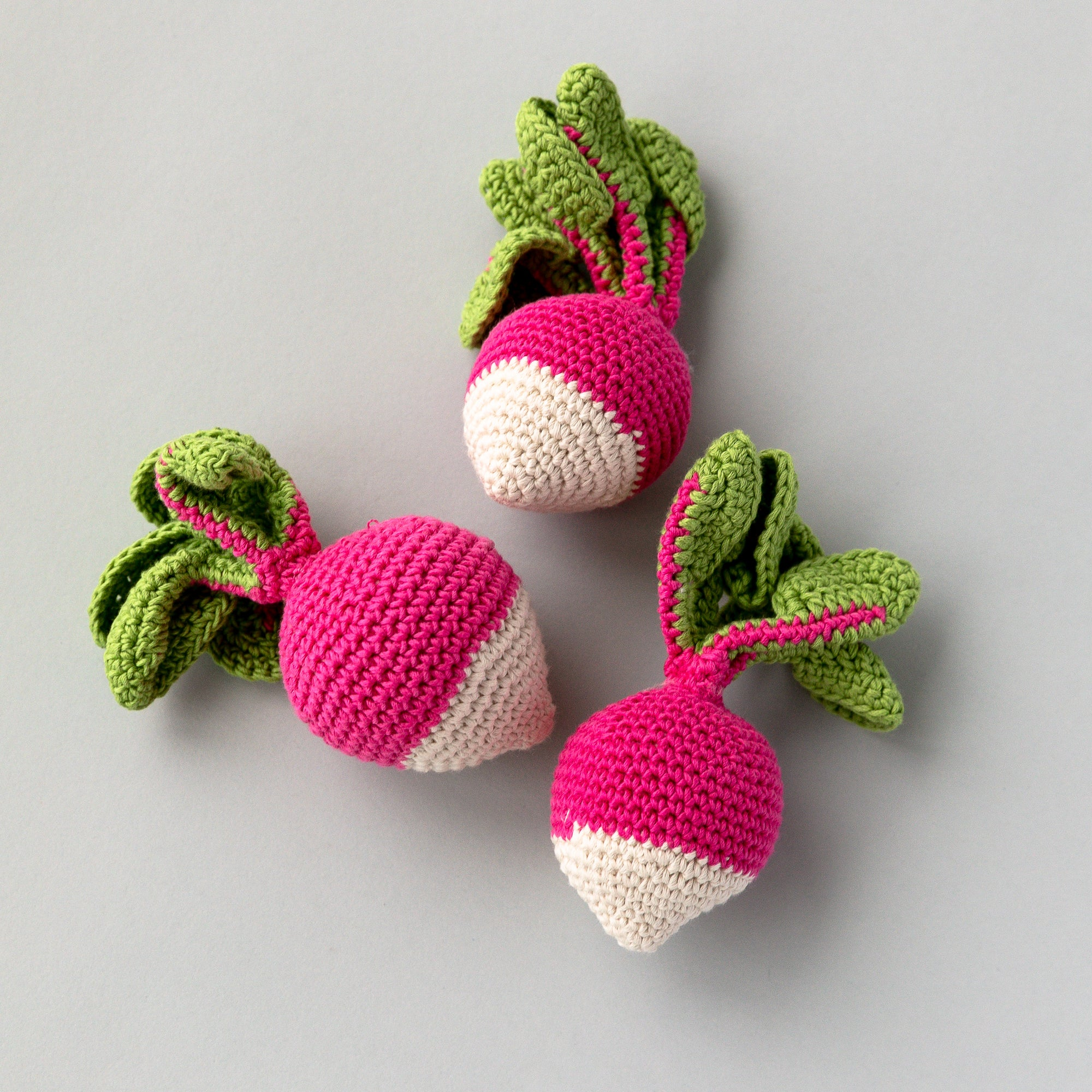 Handmade Radish Rattle, Play Food