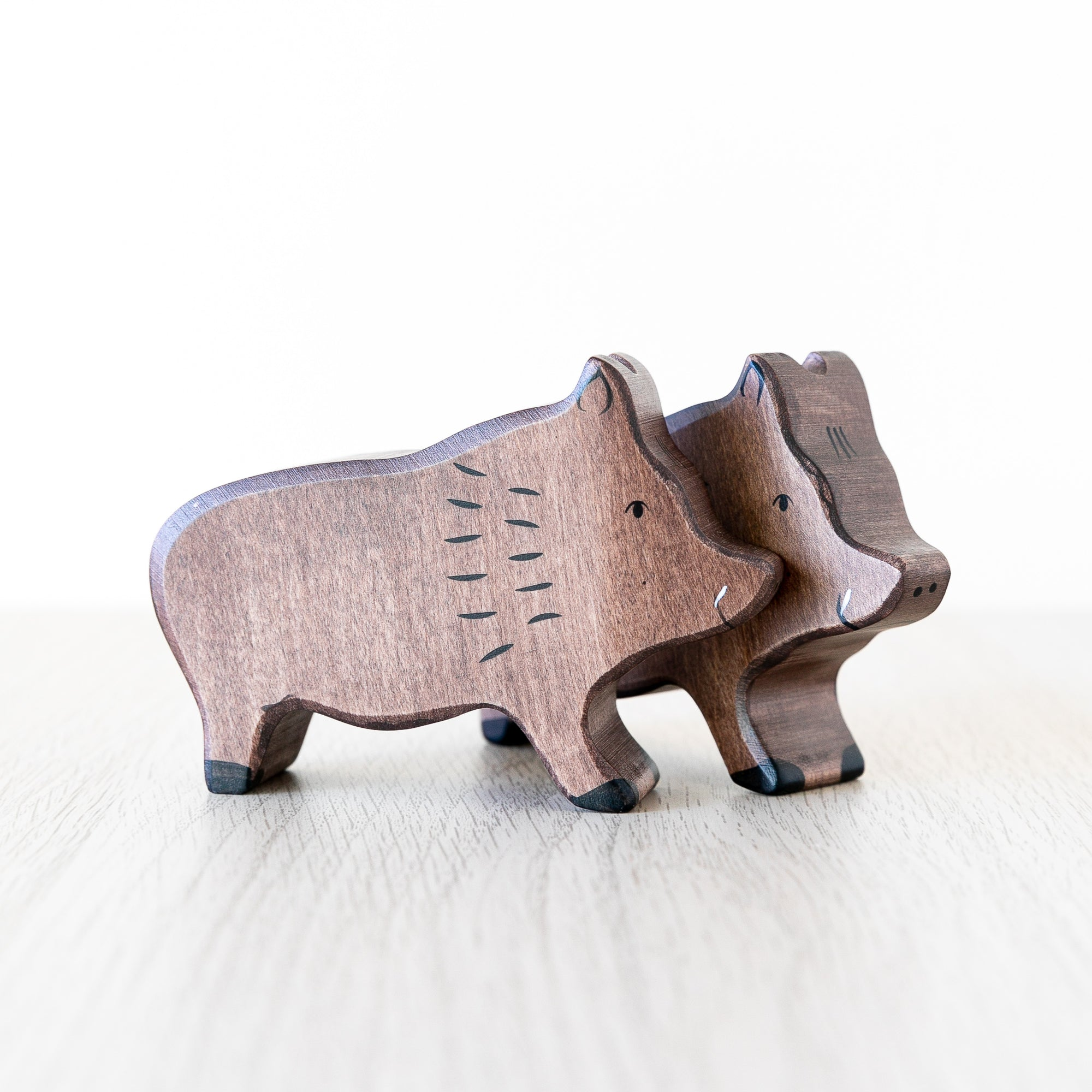 Holztiger Wooden Animal - Wild Boar