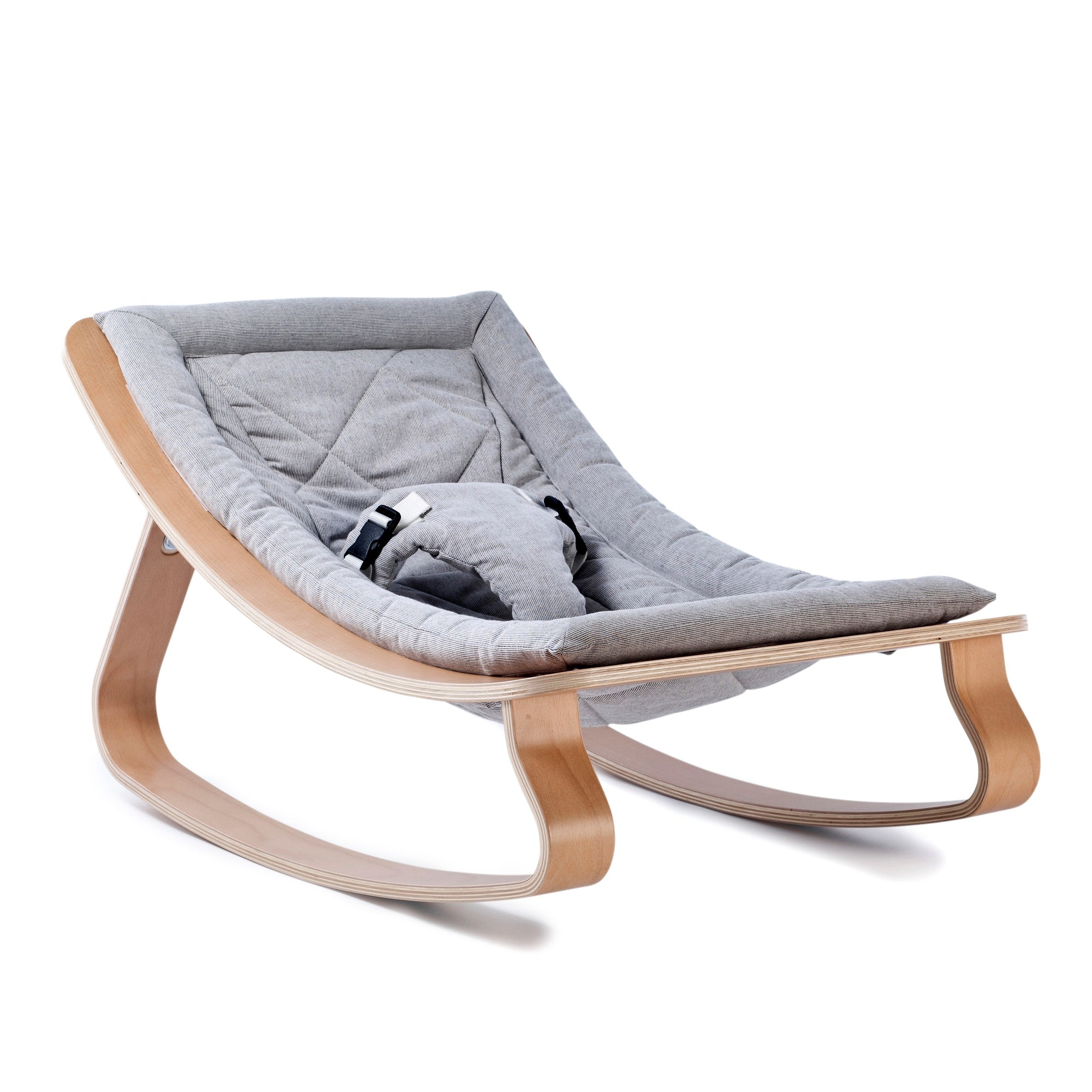 LEVO Baby Bouncer - Sweet Grey 1