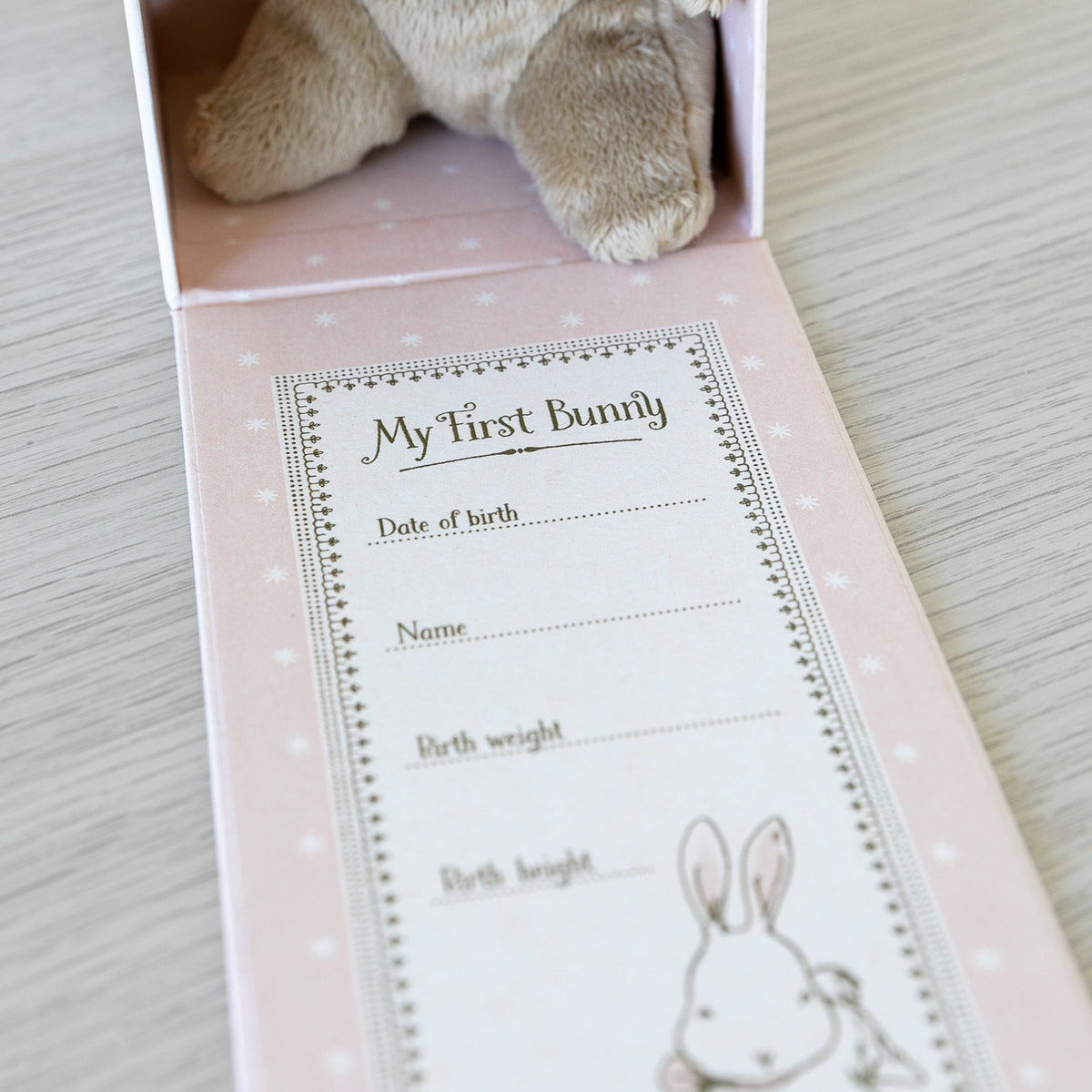 Maileg My First Bunny in Box - Rose