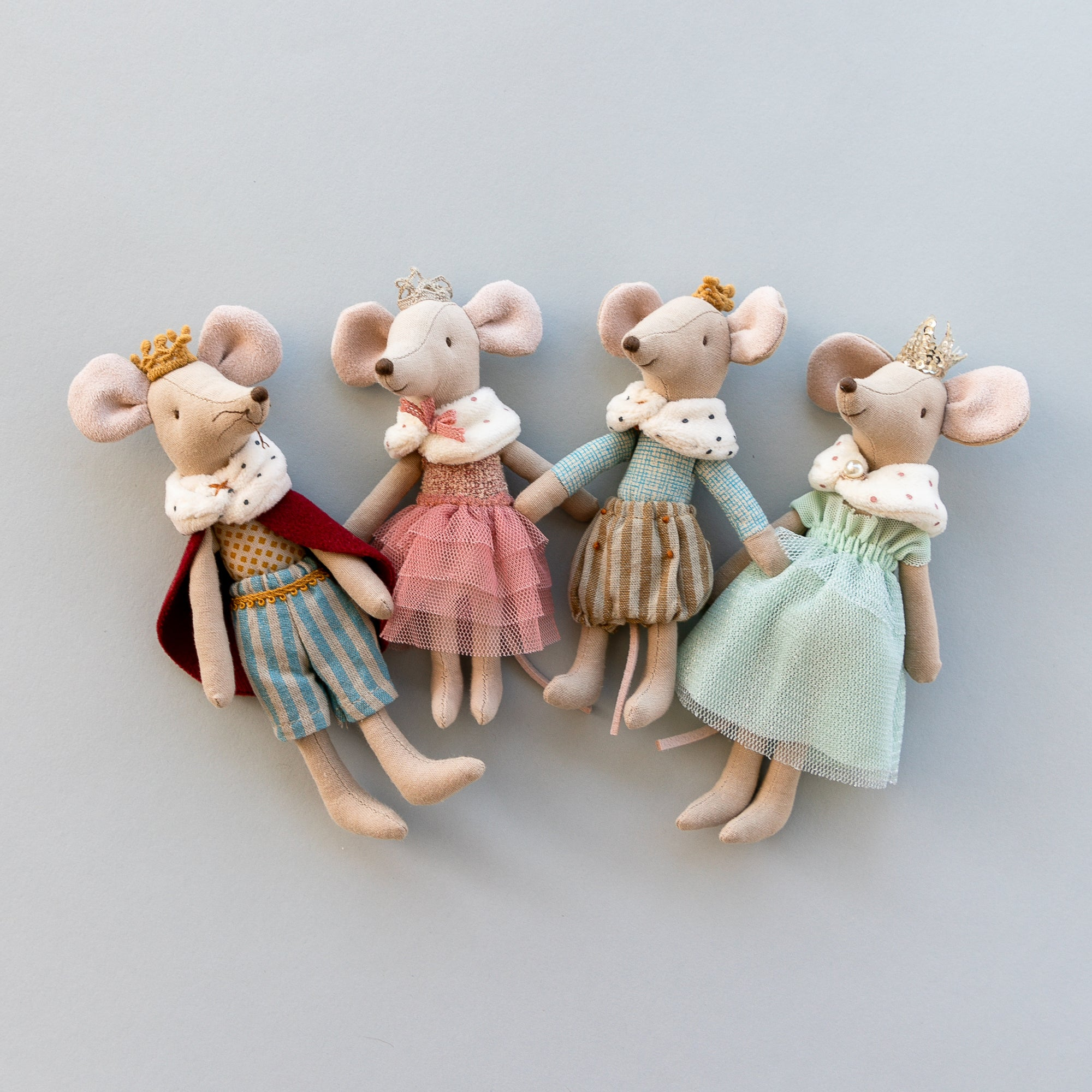 Maileg Royal Mouse Family