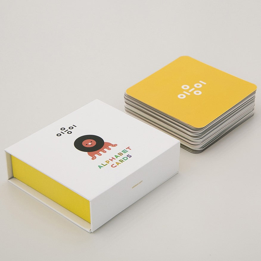 Oioiooi Alphabet Cards