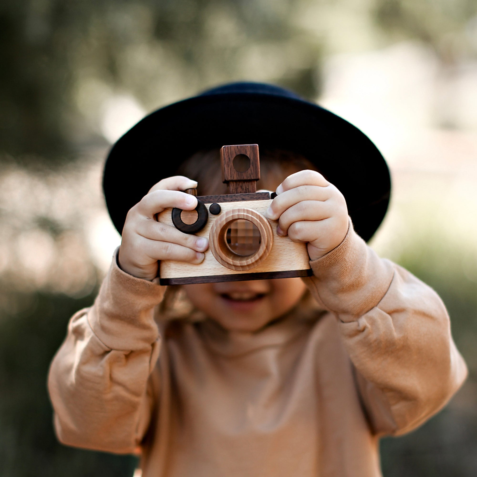 Original Wooden Toy Camera