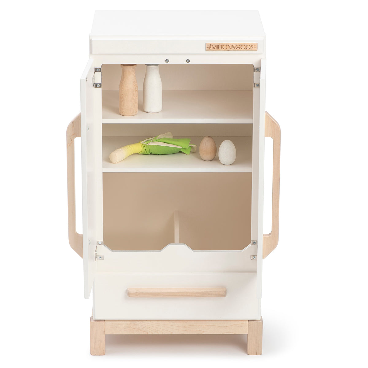 Play Kitchen Fridge - Gray