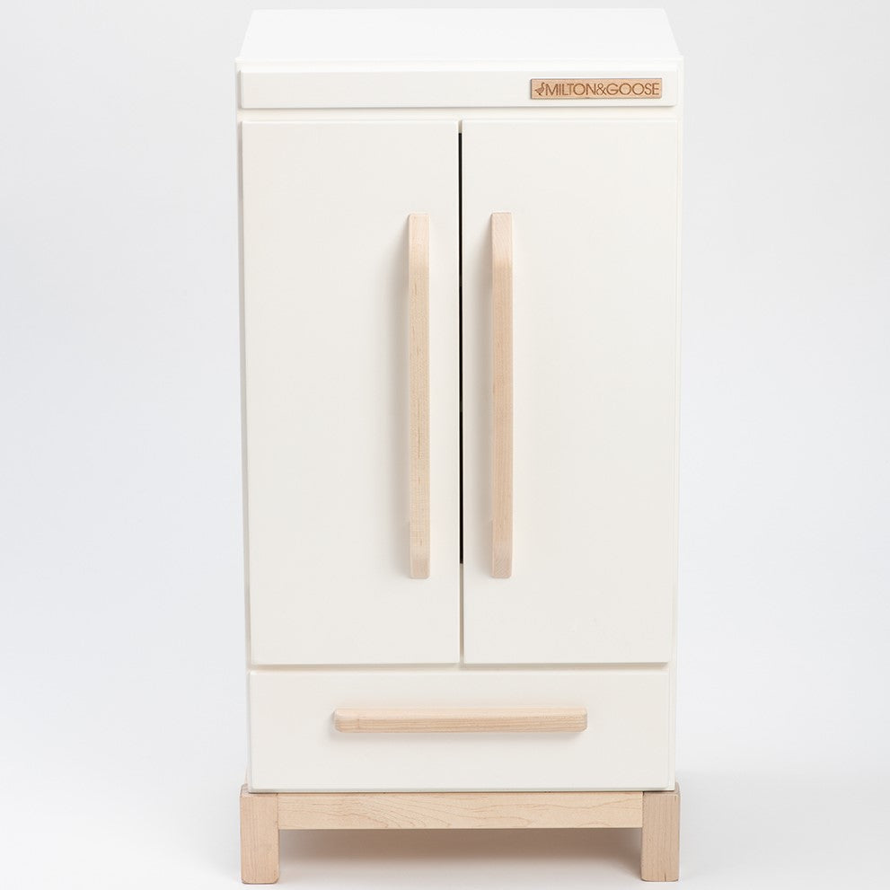 Play Kitchen Fridge - White 2