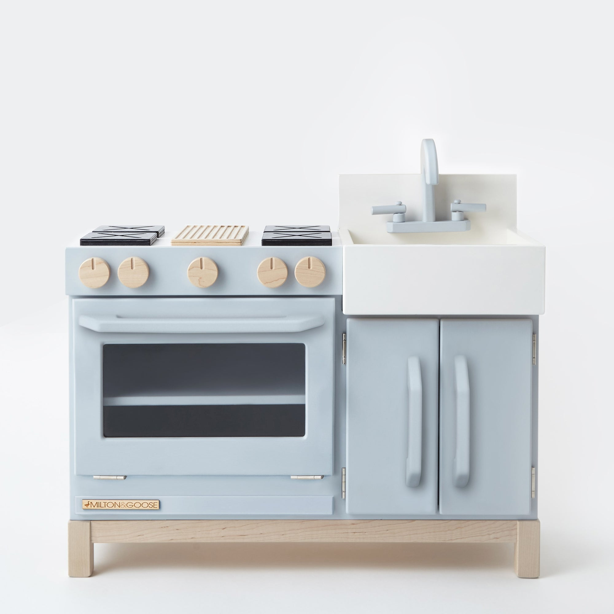 Play Kitchen - Gray 1