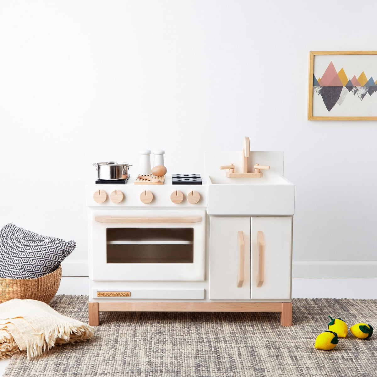 Play Kitchen - Gray 3