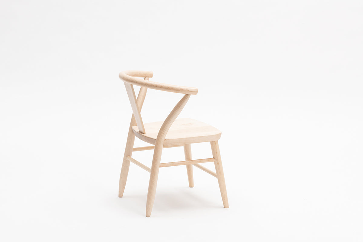 Wooden Play Chairs (Pair) - Natural 3