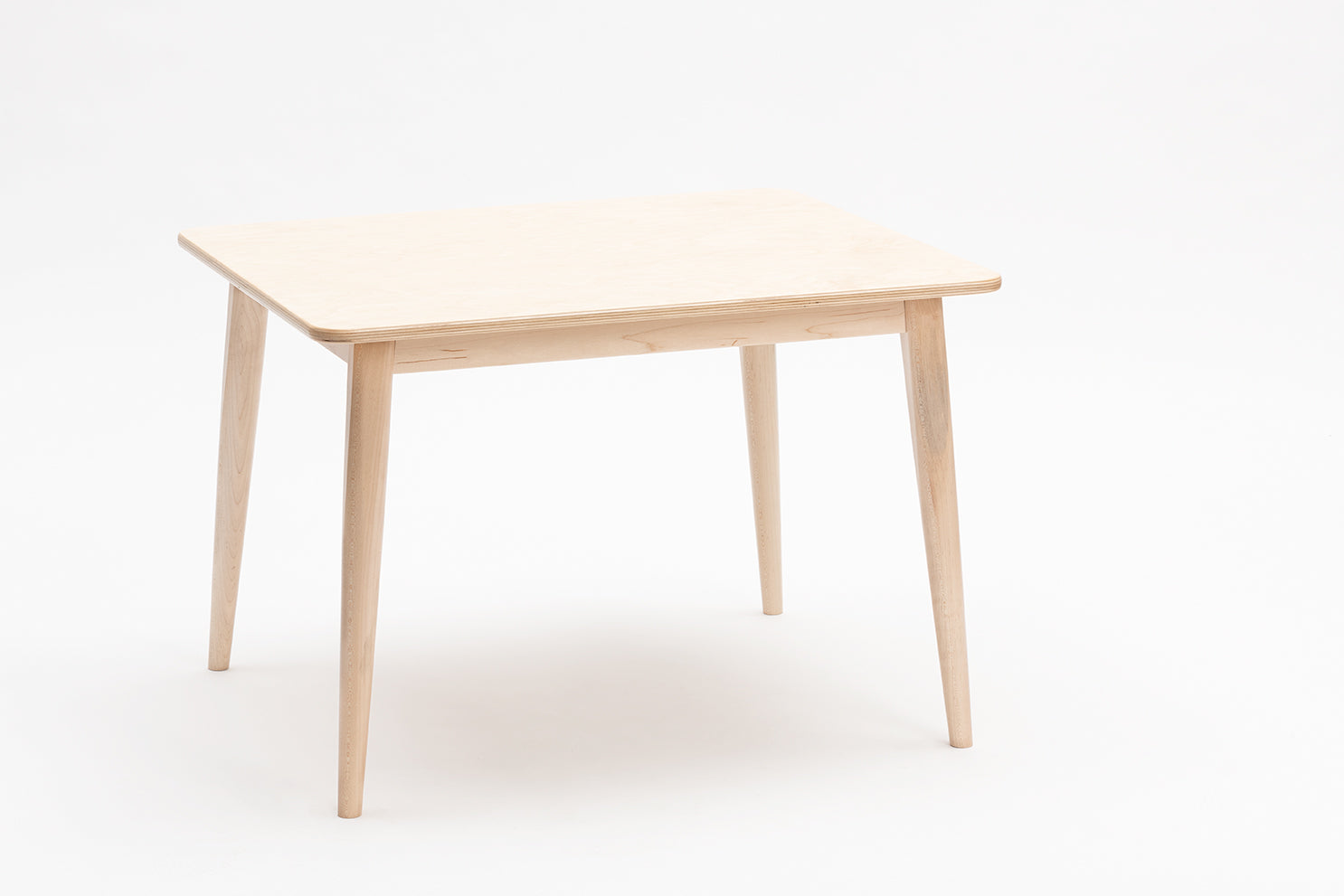 Wooden Play Table - Natural 1