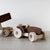 Wooden Toy Tractor with Trailer