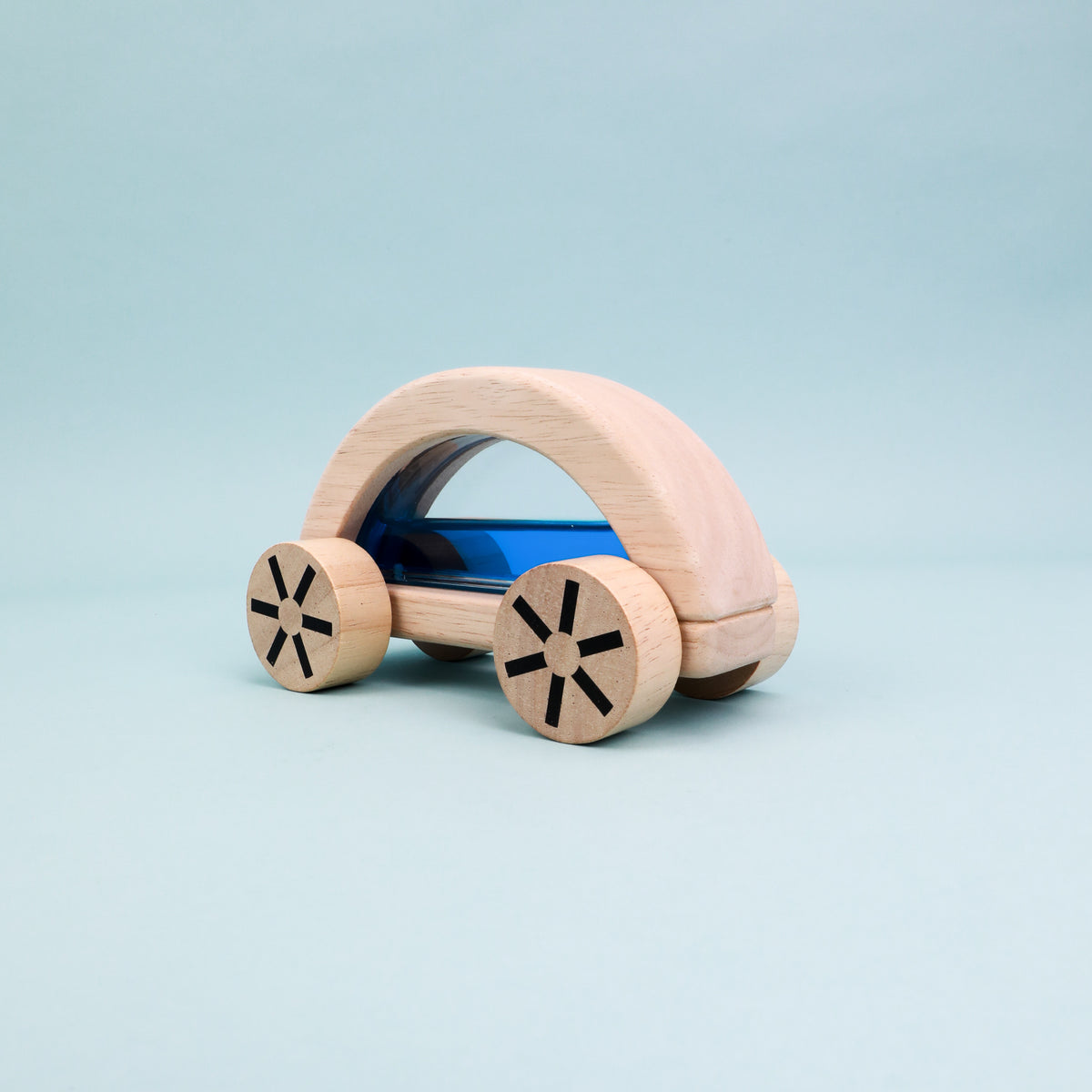 Wooden Water-Filled Vehicle