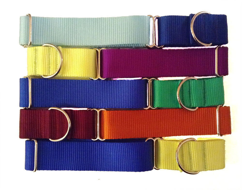 "1.5"" Solid Nylon Martingale"